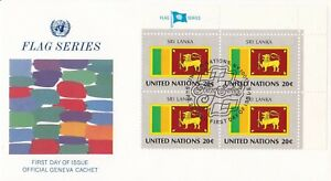 UN111-United-Nations-1981-Sri-Lanka-20c-Stamp-Flag-Series-FDC-Price-8-00