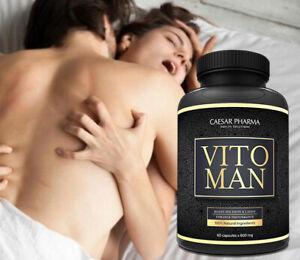 60 Vitoman Potenzpillen Potenzmittel Sexpillen Testosterone & Libido Booster