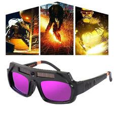 Auto Darkening Welding Goggle Glasses Helmet Mask Protect Resist Ultraviolet Ray