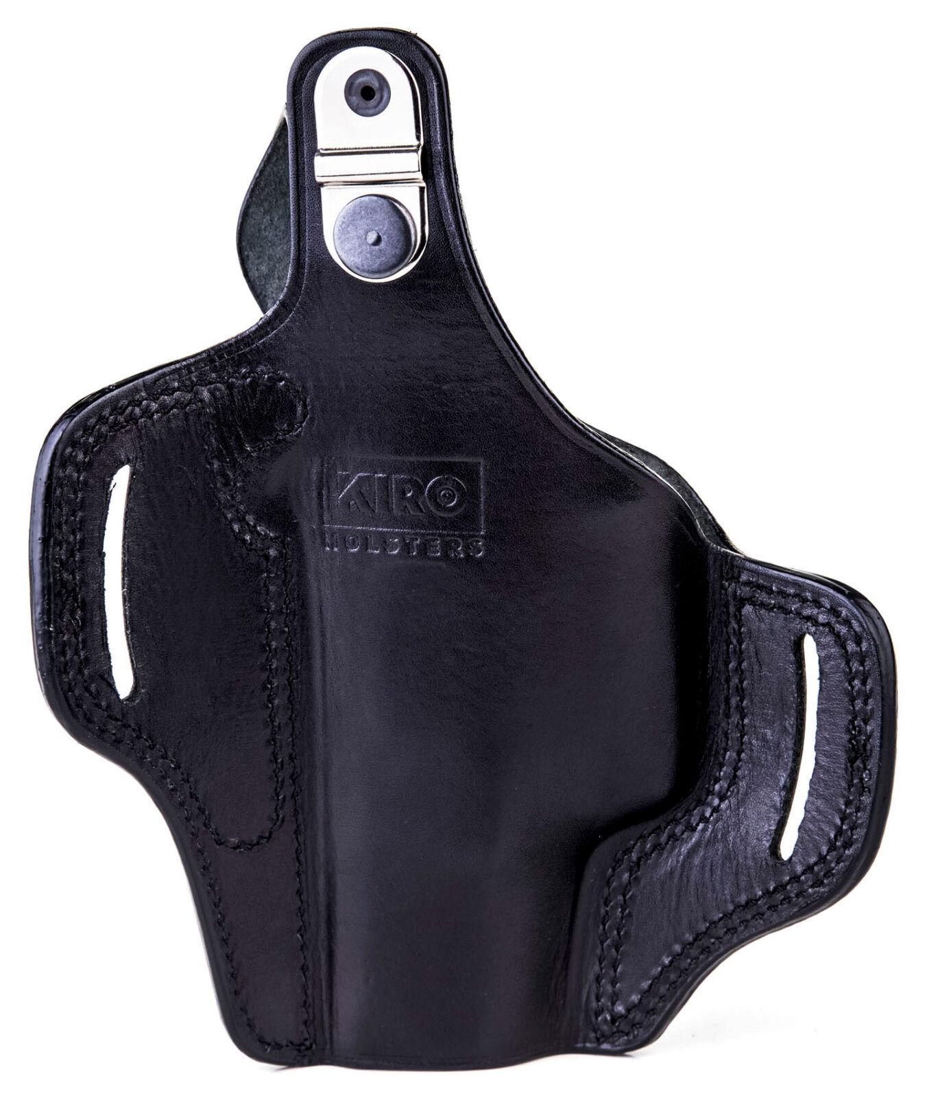La TB Casual-Kiro pulgar romper Funda De Cuero Para Glock 17, 22 y 31