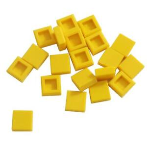 3070 Bright Light Orange 20 NEW LEGO Tile 1 x 1 with Groove