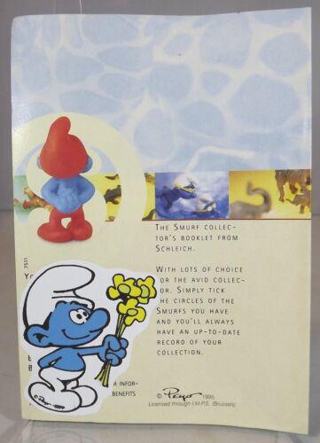 Schleich Peyo Smurf COLLECTOR/'S brochure catalogue 1997 7th edition