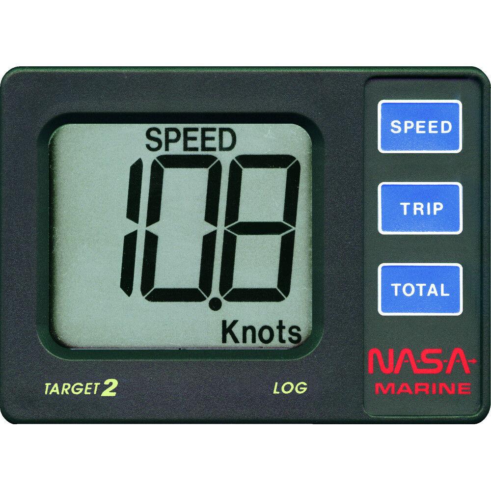 NASA Marine Target 2 Log Geschwindigkeitsmessung mit Durchbruchgeber für Stiefel