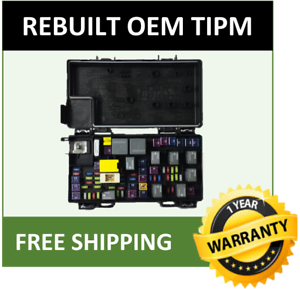2012 jeep liberty tipm fuse and relay distribution box oem 68105502 Marine Fuse Box image is loading 2012 jeep liberty tipm fuse and relay distribution