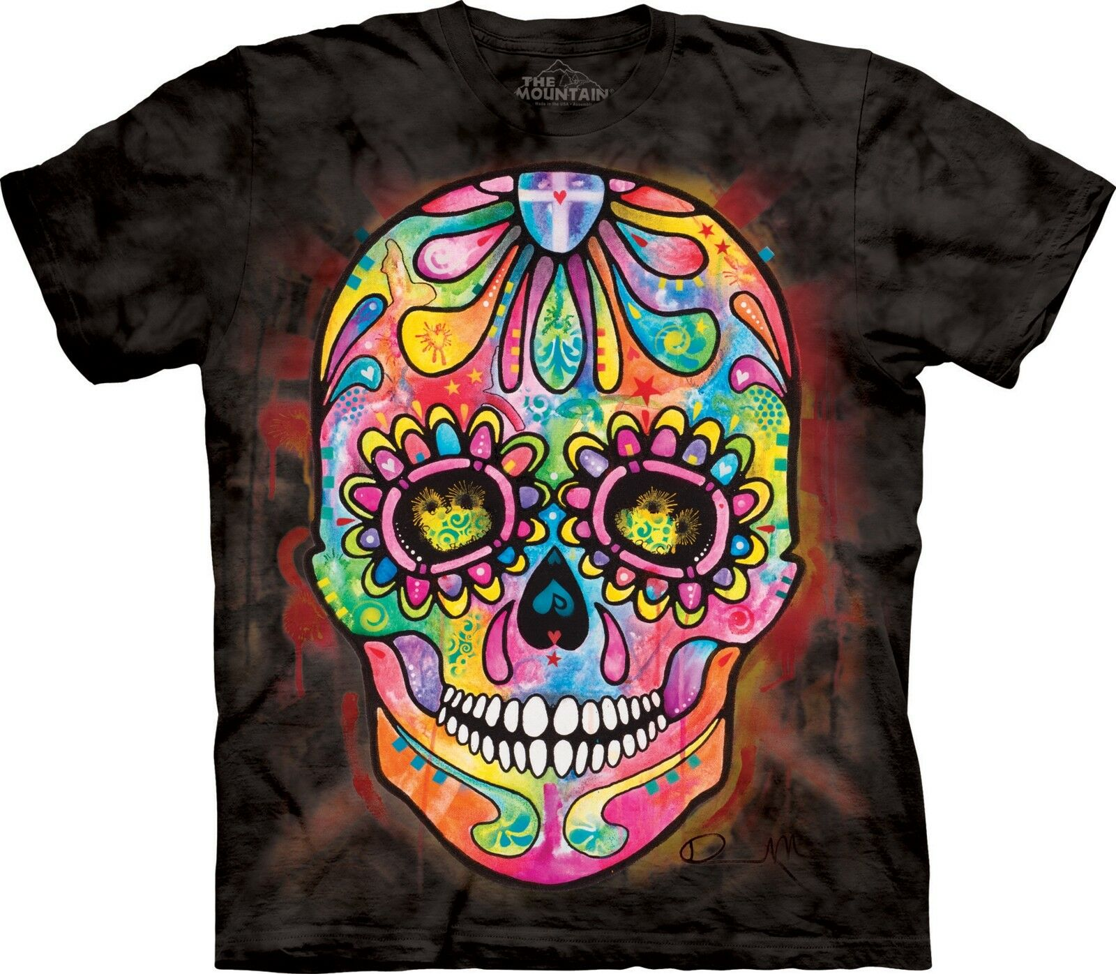 Day of Dead T Shirt Adult Unisex The Mountain