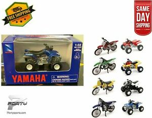 New Atv Yamaha Warrior 1 32 Diecast Model Toy Atv Dirt Bike Off Road Motocross 93577062274 Ebay