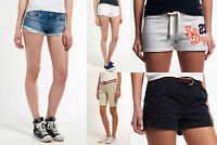 New Womens Superdry Shorts Selection - Various Styles. 1807