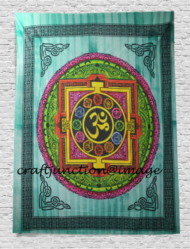 ZODIAC SIGNS AND ASTROLOGY Om Wall Decor Tapestry Wall Hanging Ethnic Wall Art