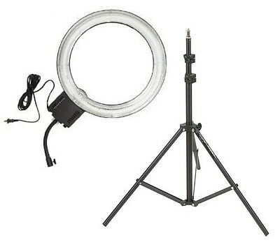 "Dimmable Photo/Video Fluorescent Diva Ring Light 18"" w/ 6' Light Stand SUPERNOVA"