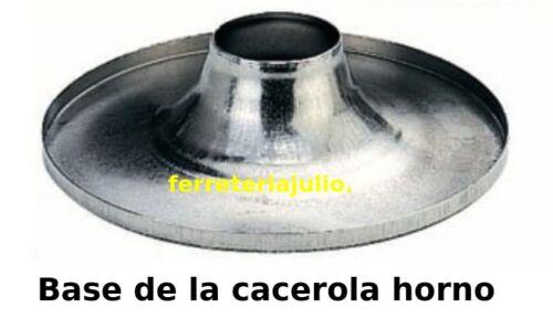 BASE CIRCULAR DE CACEROLA HORNO PARA COCINA DE GAS RECAMBIO CAZUELA SOPORTE