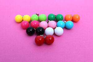 Funky-BALL-Orecchini-Carino-Kitsch-Retro-POP-ANNI-039-60-039-70-039-80-DISCOTECA-SWEET-DIVERTENTE