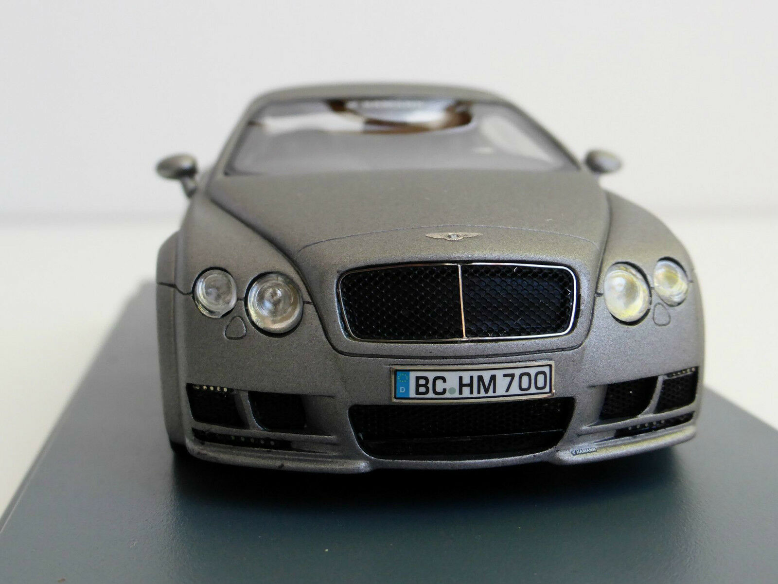 Bentley Hamann Imperator 1 43 NEOSCALEMODELS NEO 45700 Continental GT gris