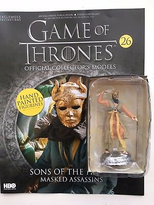 Ernst Game Of Thrones Issue 26 Sons Of The Harpy Eaglemoss Collector's Figurine Model SchöN Und Charmant Action- & Spielfiguren
