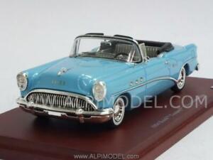 Buick Century 2 portes convertible 1964 bleu clair 1:43 échelle réelle Tsm134306