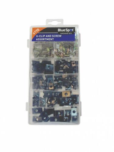 Spire Speed Clip Fasteners U-Clip assortment set with Screws 40532