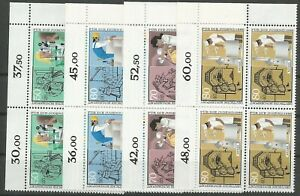 Federal-Frg-Minr-1274-1277-Mint-Block-of-Four-Corner-2-Unfolded