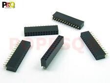 Stk.5x BUCHSENLEISTE HEADER 2 x 8 polig pins 2.54mm Zweireihig #A120