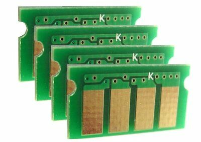Refill Campatible 4 Color Toner Reset Chips for use in Dell H625cdw H825cdw S2825cdn