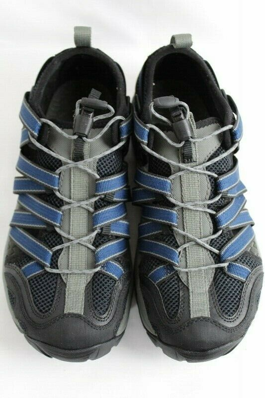 Chaco Outcross Men's Performance beach Sandals Water shoes color Steel Size 8.5