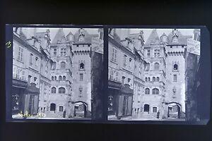 Loches-Francia-Foto-Stereo-Negativo-Su-Film-Morbido-1913