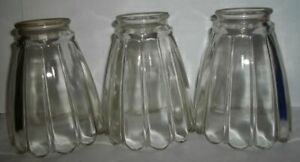 Set-of-3-Vintage-Clear-Etched-Light-Fixture-Shades