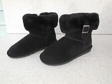 NEW WOMENS SIZE 8 BEARPAW ABBY 1257W BLACK II WINTER BOOTS / PROMPT SHIP