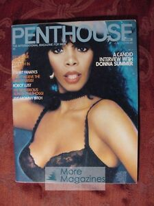 PENTHOUSE JULY 1979 DONNA SUMMER STOCK CAR HEROES THE MYSTERIOUS ADNAN KHASHOGGI AND MORE!