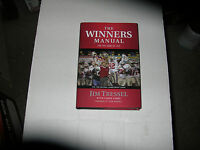 The Winners Manual By Jim Tressel (2008, Hardcover) Signed 1st/1st
