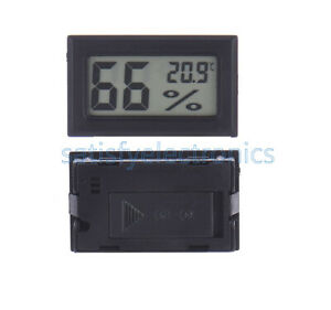 5PCS-Digital-LCD-Thermometer-Hygrometer-Humidity-Temperature-Meter-Indoor-NEW
