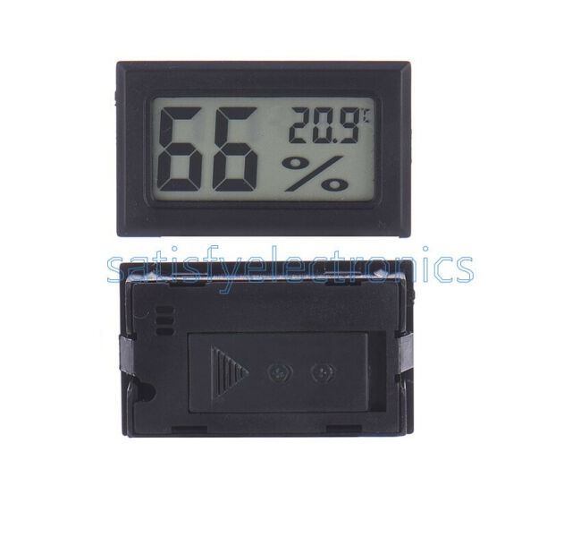5PCS Digital LCD Thermometer Hygrometer Humidity Temperature Meter Indoor NEW