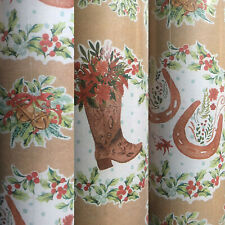 ✨1 Roll The Pioneer Woman Farm Life Christmas Gift Wrapping Paper 80 sq ft New✨