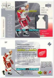 UD-TOP-SHELF-2001-SERGEI-FEDOROV-NHL-DETROIT-RED-WINGS-STANLEY-CUP-GAME-JERSEY
