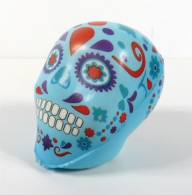 SQUISHUMS SKULL SERIES SLOW RISE SQUISHY BLUE SINGLE TOLTE LOOSE