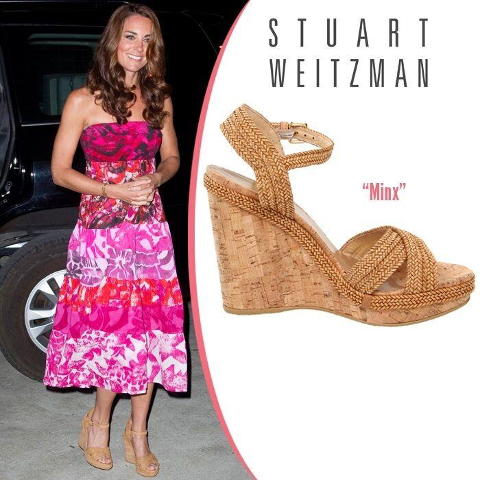 Nuevo  429 Stuart Weitzman Minx Minx Minx Alpargata Cuña De Corcho Sandalia Zapatos Talla 10.5  descuento online