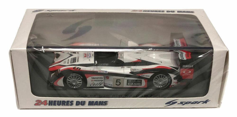 SPARKI R8 Team GOH  5 vainqueur Le Mans 2004-échelle 1 43