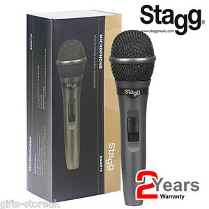 Stagg-SDMP15-High-Quality-Wired-Dynamic-DJ-Microphone-for-Live-Performance