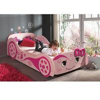 Cute Racing Girl Car Bed - Kids & Children