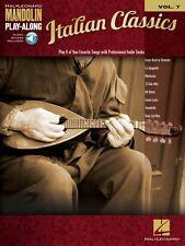 Italian Classics Sheet Music Mandolin Play-Along Book and Audio NEW 000119368