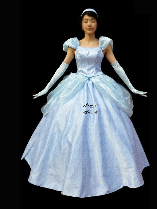 PP159 Cinderella new park version costume made cosplay cosplay cosplay dress 141048