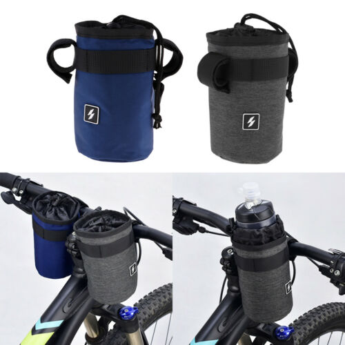 Biking Holder Pouch Front Handlebar Insulation Hanging Water Bottle Bag