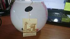 FRATELLI TOSO & MURANO GLASS VASE BOWL BONBON SWEAT FLOWER GLOBE