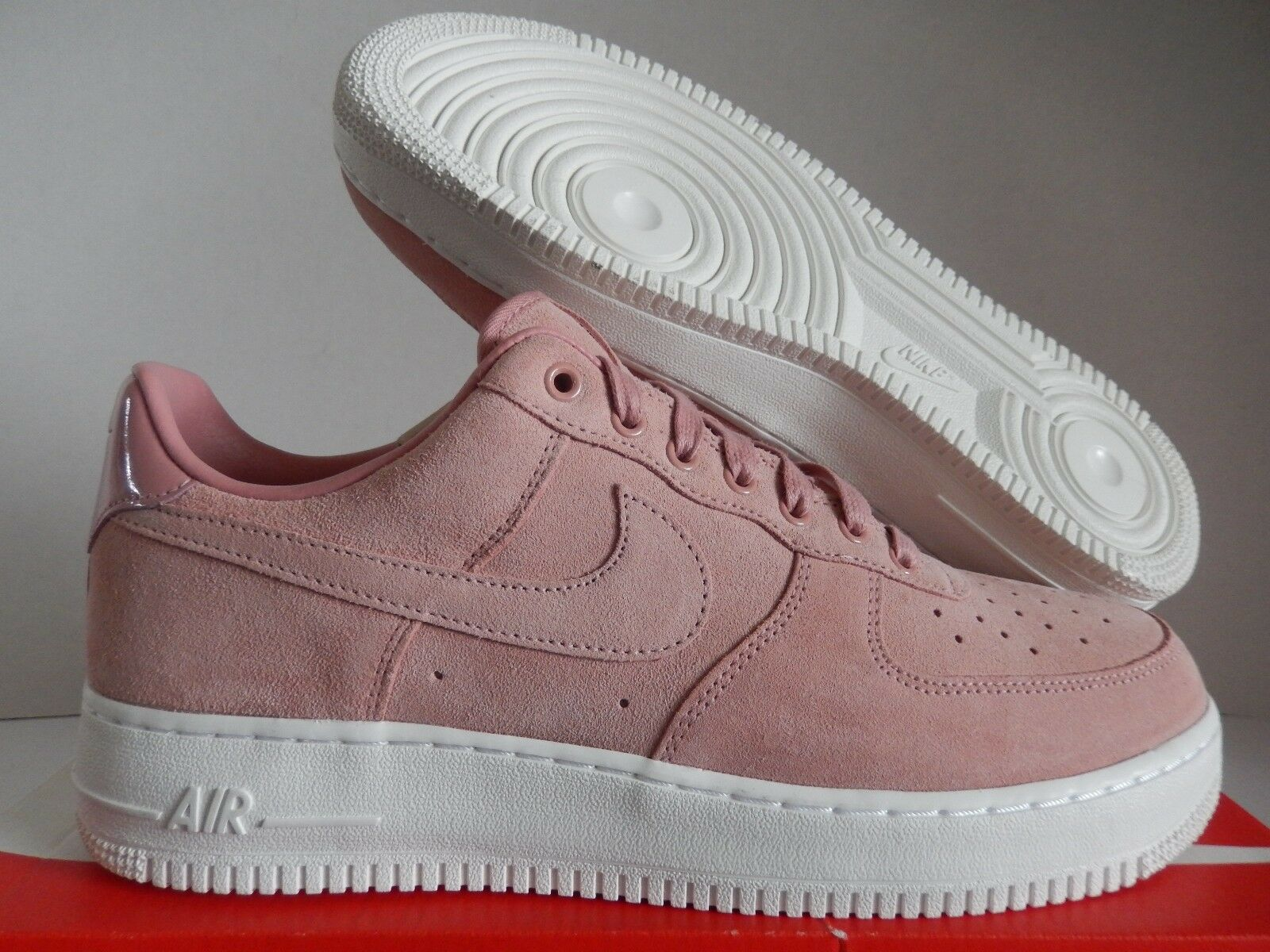 NIKE AIR FORCE 1 LOW PREMIUM ID PARTICLE BEIGE PINK-WHITE SZ 11 [AQ3661-991]