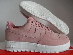 9dc7fbcaf80521 NIKE AIR FORCE 1 LOW PREMIUM ID PARTICLE BEIGE PINK-WHITE SZ 11 ...