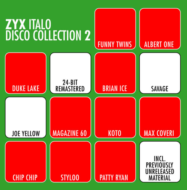 CD ZYX Italo Disco Collection 2 von Various Artists 3CDs