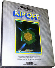 Vectrex - Rip Off - Cartridge - Vintage 1982 - Collectible New! MISB!!