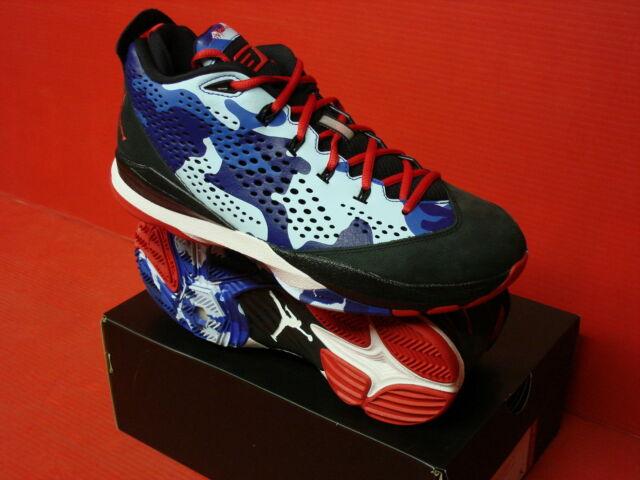 best service c0a62 86610 Nike Air Jordan Cp3 VII Chris Paul Camo Black Red Blue Royal 616805 012 1h4  11