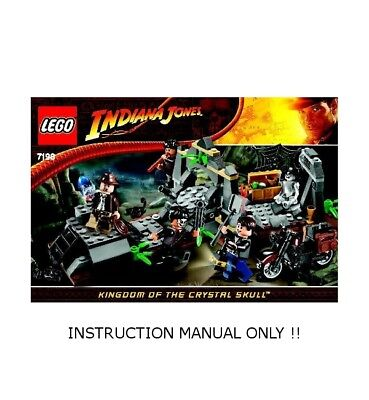 Instructions for LEGO Set 7196 Chauchilla Cemetery Battle MANUAL ONLY