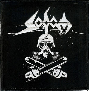 Sodom-Chainsaw-Patch-Kreator-Destruction-Tankard-Onkel-Tom-Thrash-Metal-Tank