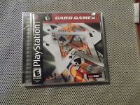 Card Games (sony Playstation 1, 2001)