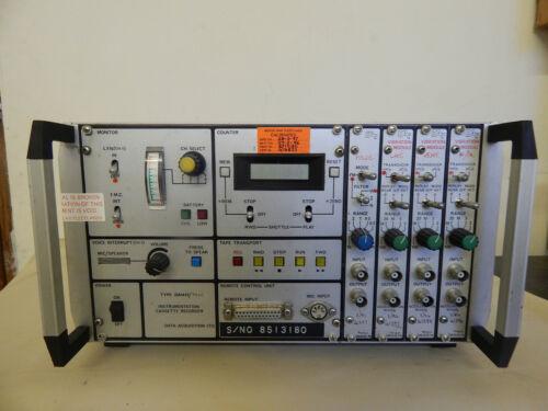 Aircraft Airborne Instrumentation Tape Recorder Part No.Type DA 7050 [P22]